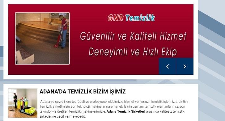 Adana'daki En İyi Temizlik Şirketleri (Ev Temizliği için GNR Temizlik)